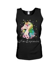 Unicorn I Am Expensive Unisex Tank thumbnail
