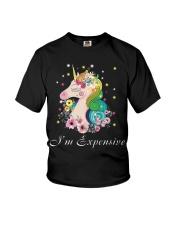Unicorn I Am Expensive Youth T-Shirt thumbnail