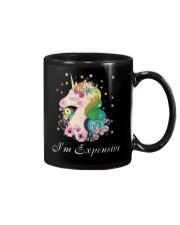 Unicorn I Am Expensive Mug thumbnail