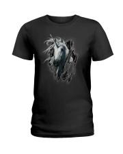 Unicorn Inside Me Ladies T-Shirt thumbnail