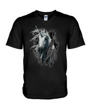 Unicorn Inside Me V-Neck T-Shirt thumbnail