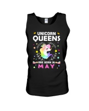 Unicorn Queens Are Born In May Unisex Tank thumbnail