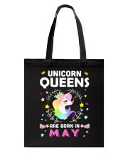Unicorn Queens Are Born In May Tote Bag thumbnail