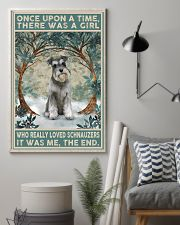 Schnauzer Once Upon A Time 11x17 Poster lifestyle-poster-1