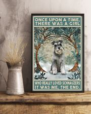 Schnauzer Once Upon A Time 11x17 Poster lifestyle-poster-3