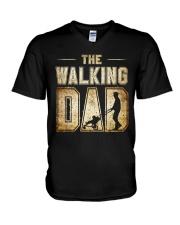 Walking Dad V-Neck T-Shirt thumbnail