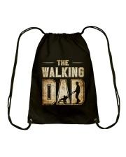Walking Dad Drawstring Bag thumbnail