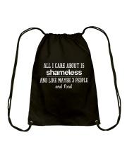 Sh- All I Care About Drawstring Bag thumbnail