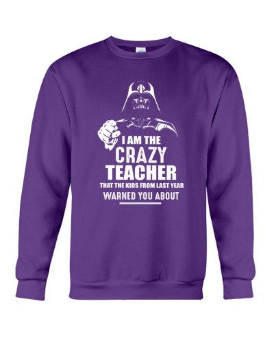 I am the crazy teacher