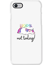 Unicorn Nope Not Today Phone Case thumbnail