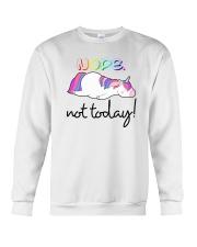 Unicorn Nope Not Today Crewneck Sweatshirt thumbnail