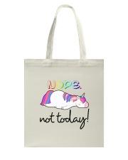 Unicorn Nope Not Today Tote Bag thumbnail