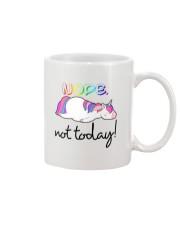 Unicorn Nope Not Today Mug thumbnail