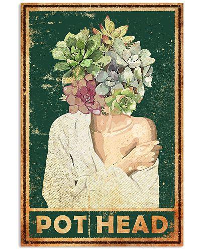 Garden White Girl Pot Head