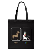 UNICORN YOU AND ME Tote Bag thumbnail