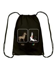 UNICORN YOU AND ME Drawstring Bag thumbnail