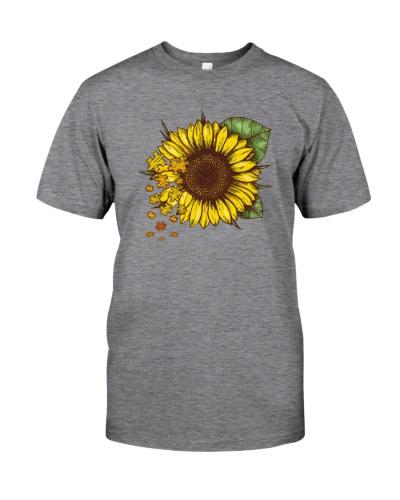 Autism Sunflower