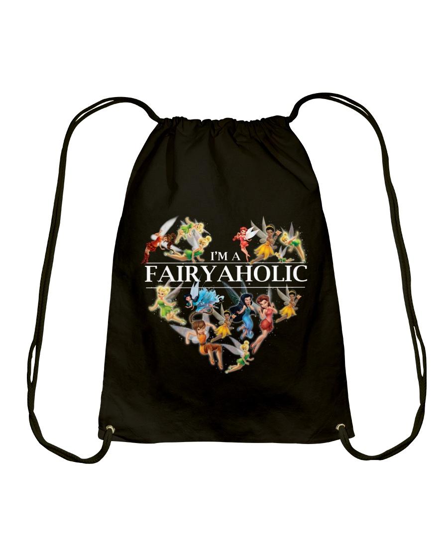 Fairy Aholic Drawstring Bag