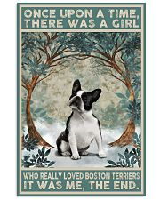 Boston Terriers Once Upon A Time 11x17 Poster front