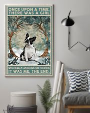 Boston Terriers Once Upon A Time 11x17 Poster lifestyle-poster-1