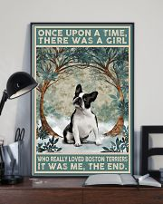 Boston Terriers Once Upon A Time 11x17 Poster lifestyle-poster-2