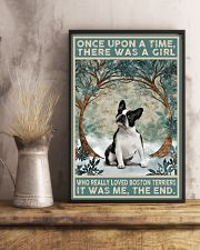 Boston Terriers Once Upon A Time 11x17 Poster lifestyle-poster-3