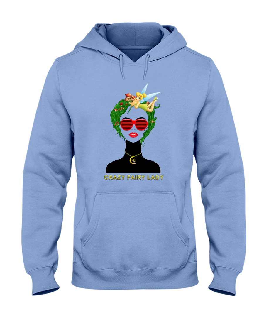 Crazy Fairy Lady Hooded Sweatshirt