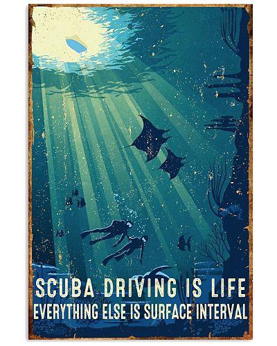 Scuba Diving Retro Poster 4