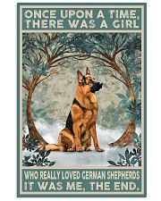 German Shepherd Once Upon A Time 11x17 Poster front