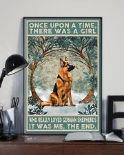 German Shepherd Once Upon A Time 11x17 Poster lifestyle-poster-2