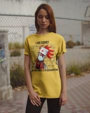 Sorry Nice Nurse Not Here Classic T-Shirt apparel-classic-tshirt-lifestyle-18