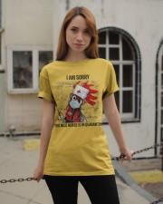 Sorry Nice Nurse Not Here Classic T-Shirt apparel-classic-tshirt-lifestyle-19