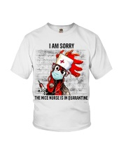 Sorry Nice Nurse Not Here Youth T-Shirt thumbnail