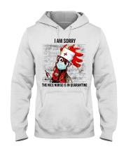 Sorry Nice Nurse Not Here Hooded Sweatshirt thumbnail