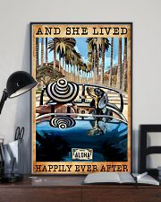 Dachshund And She Lived Happily Ever After 11x17 Poster lifestyle-poster-2