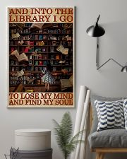 BOOK INTO THE LIBRARY I GO 11x17 Poster lifestyle-poster-1