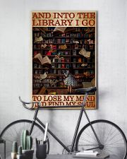 BOOK INTO THE LIBRARY I GO 11x17 Poster lifestyle-poster-7