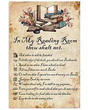 Books Reading Room Rule 11x17 Poster front