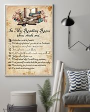 Books Reading Room Rule 11x17 Poster lifestyle-poster-1