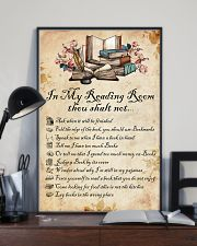 Books Reading Room Rule 11x17 Poster lifestyle-poster-2
