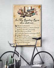 Books Reading Room Rule 11x17 Poster lifestyle-poster-7