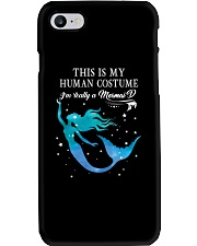 Mermaid - This is my human costume Phone Case thumbnail