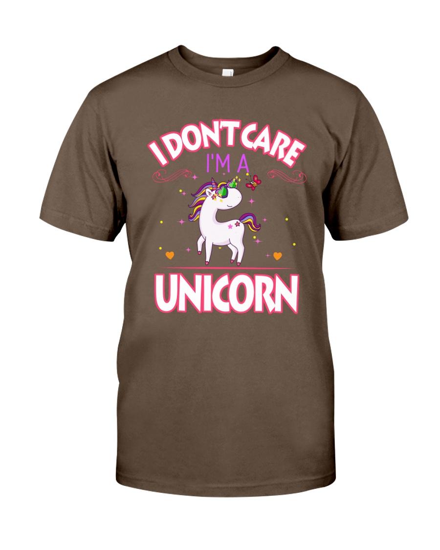 I DON'T CARE - I'M A UNICORN Classic T-Shirt