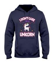 I DON'T CARE - I'M A UNICORN Hooded Sweatshirt thumbnail