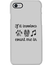 Dog Flipflops And Music Phone Case thumbnail