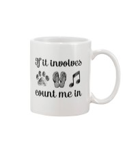 Dog Flipflops And Music Mug thumbnail