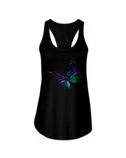 Butterfly In My Heart Ladies Flowy Tank thumbnail