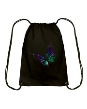 Butterfly In My Heart Drawstring Bag thumbnail