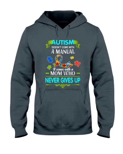 Autism - Mom - Never Gives Up