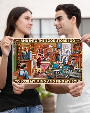 Into The Bookstore I Go 17x11 Poster poster-landscape-17x11-lifestyle-20